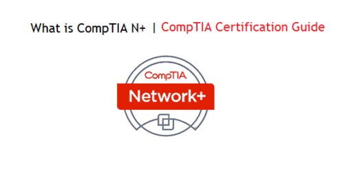 What is CompTIA Network+? What you need before N+