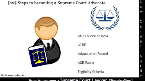 How to become a Supreme Court Lawyer, Advocate [12 Steps] Guide