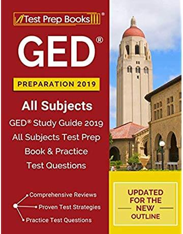 best GED test prepration book