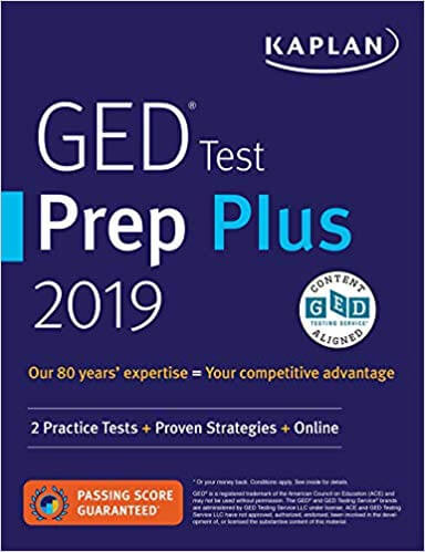 best ged test books for prepration
