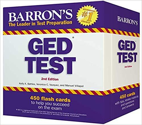 books on ged test preparation