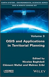 Best Books to learn QGIS and Applications in Territorial Planning