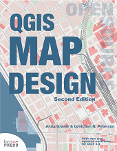 best books to learn QGIS Map design