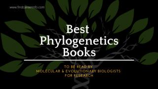 15 Best Phylogenetics Books
