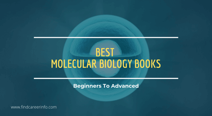 best molecular biology books Beginners To Advanced