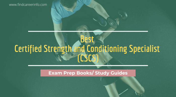 Best CSCS Exam Prep Books Study Guides Review