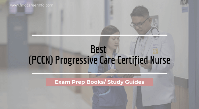 Best PCCN exam prep books Study Guides